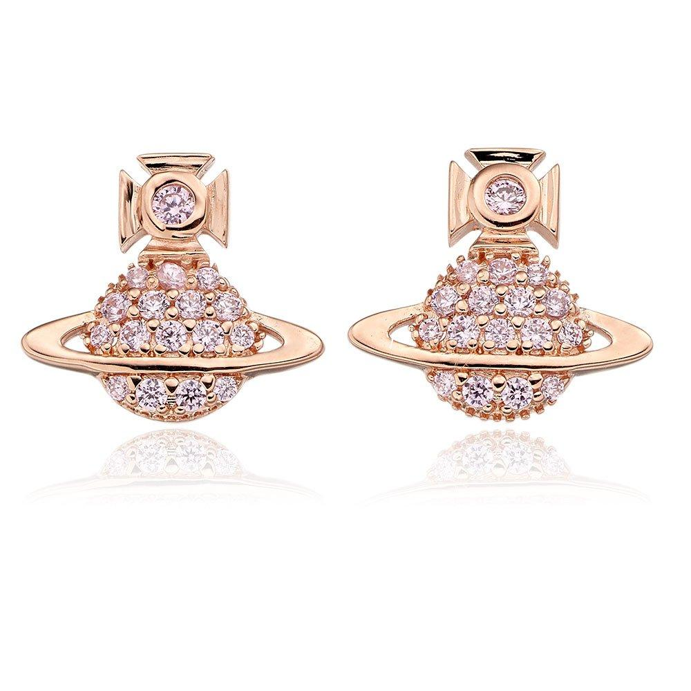 rose gold vivienne westwood earrings